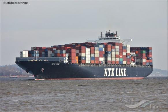NYK VEGA, Container Ship - Details and current position