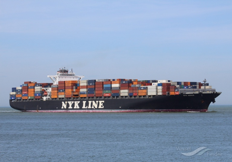 NYK VENUS, Container Ship - Details and current position