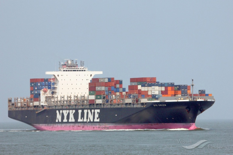 NYK ORION, Container Ship - Details and current position