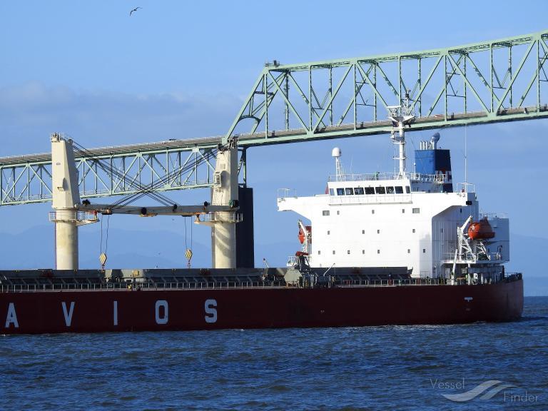 Navios Ulysses Current Position Bulk Carrier Imo 9317494