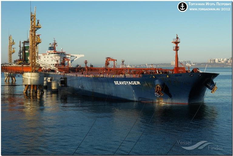 SEAVOYAGER (MMSI: 256439000) ; Place: Oil Terminal SHESKHARIS, port Novorossiysk, Russia.