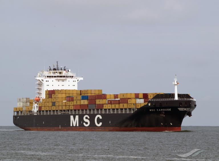 MSC CAROUGE (MMSI: 255805617)