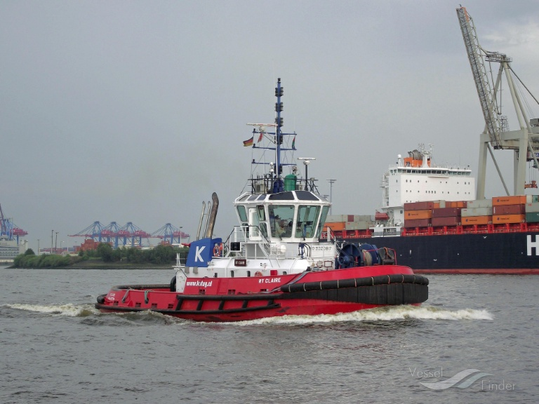RT CLAIRE (MMSI: 533001020) ; Place: Hamburg_Hafen