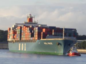 Photo of MOL PACE ship