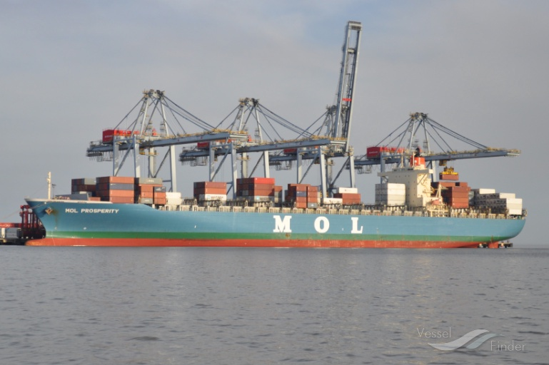 MOL PROSPERITY, Container Ship - Details and current position - IMO