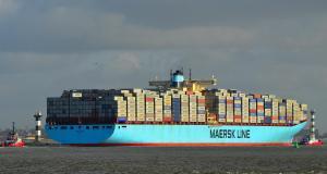 Photo of EBBA MAERSK ship