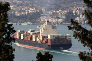 Photo of ZIM INDIA ship