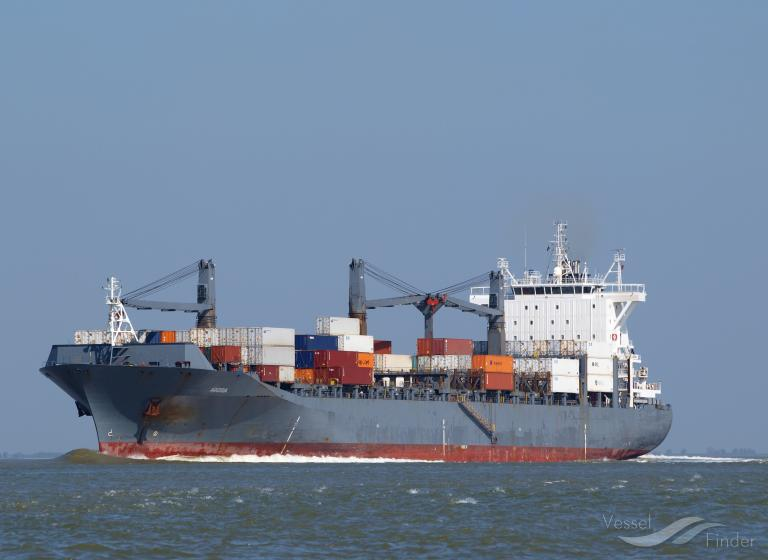 LOG IN RESILIENTE, Container Ship - Details and current