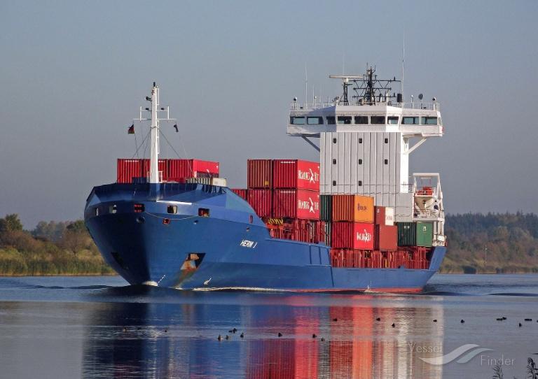 X-PRESS VESUVIO (MMSI: 256601000) ; Place: Kiel_Canal