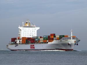 Photo of OOCL KOBE ship