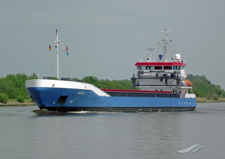 ANKIE (MMSI: 244554000) ; Place: Kiel_Canal