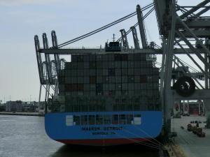 Photo of MAERSK DETROIT ship