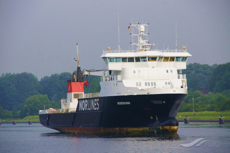 NORDKINN (MMSI: 231711000) ; Place: Kiel Canal, Germany