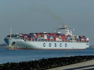Photo of COSCO OCEANIA ship