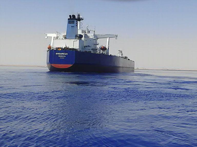 Amoureux Crude Oil Tanker Detalles Del Buque Y Posición