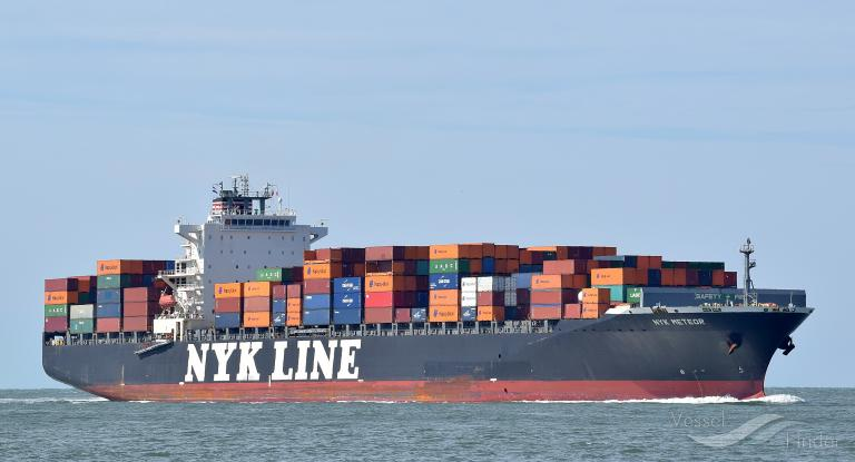 NYK METEOR, Container Ship - Details and current position