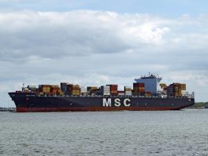 Photo of MSC PINA ship