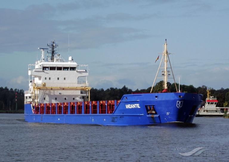 ANDANTE (MMSI: 236111321) ; Place: Kiel_Canal/ Germany
