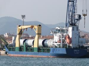 Photo of GRETA ship