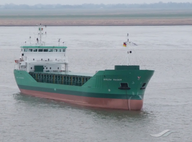 ARKLOW RAIDER (MMSI: 250001268) ; Place: Germany River Elbe