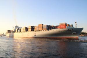 Photo of COSCO EUROPE ship