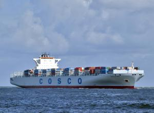 Photo of COSCO AMERICA ship