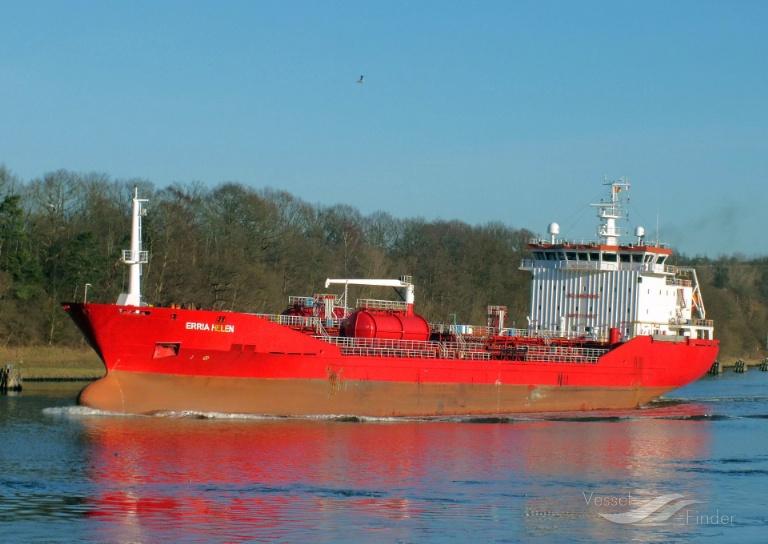 ERRIA SWAN (MMSI: 220644000) ; Place: Kiel_Canal