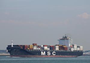 Photo of MSC NURIA ship