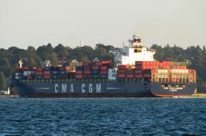 Photo of CMA CGM AMBER ship