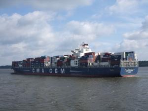 Photo of CMA CGM CORAL ship