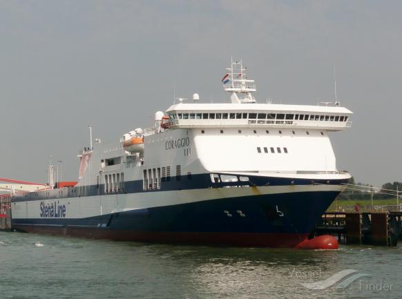 ATHENA SEAWAYS (MMSI: 277504000) ; Place: Hoek van Holland