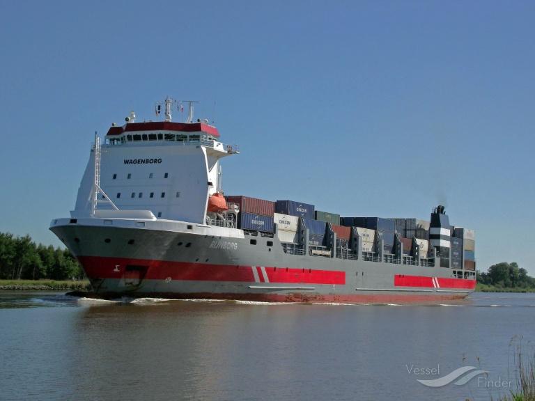 RIJNBORG (MMSI: 246530000) ; Place: Kiel_Canal