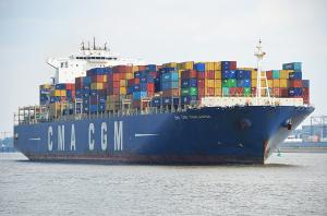 Photo of CMA CGM THALASSA ship