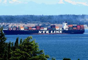 Photo of NYK THESEUS ship