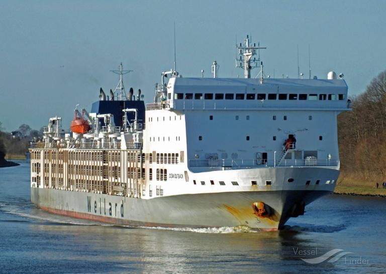 BAHIJAH (MMSI: 538007603) ; Place: Kiel_Canal