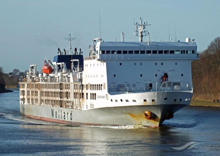 BAHIJAH (MMSI: 538007603) ; Place: Kiel_Canal/ Germany