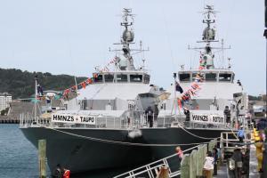 Photo of HMNZS TAUPO ship