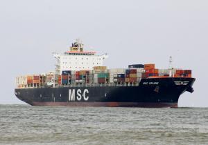Photo of MSC ORIANE ship