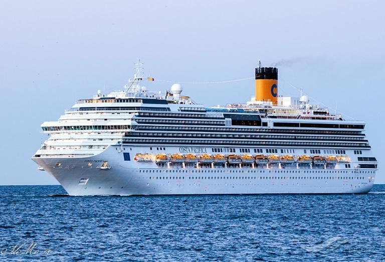 costa pacifica passenger cruise ship schiffsdaten und