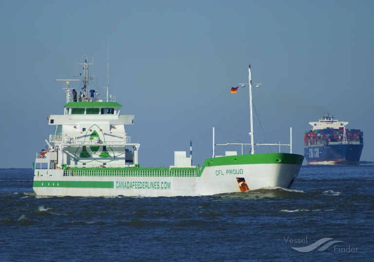 CFL PROUD (MMSI: 246611000) ; Place: Cuxhaven, Germany