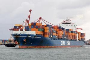 Photo of CMA CGM TURQUOISE ship