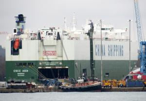 Photo of CSCC ASIA ship