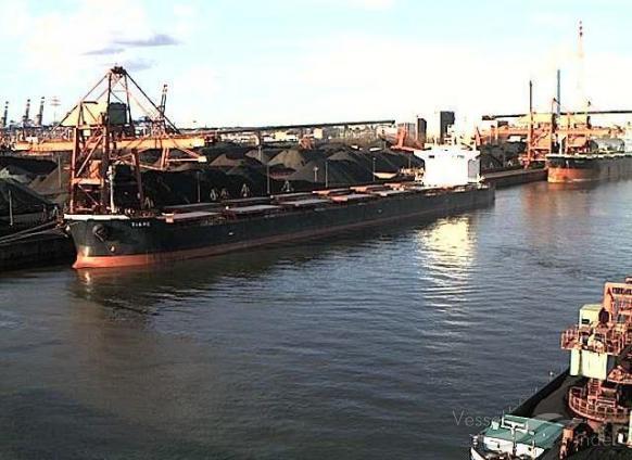 KAVALA (MMSI: 636014190) ; Place: Hansaport, Hamburg