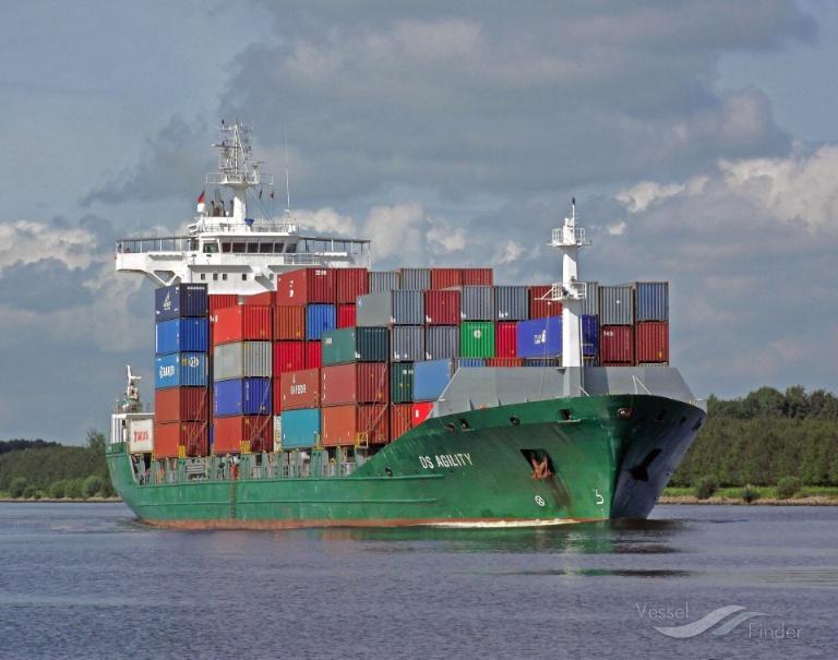 CONTSHIP TOP (MMSI: 636018000) ; Place: Kiel_Canal/ Germany