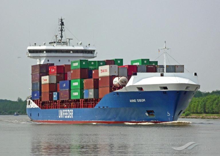 ANNE SIBUM (MMSI: 209322000) ; Place: Kiel_Canal