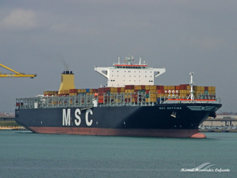 Снимка на MSC BETTINA