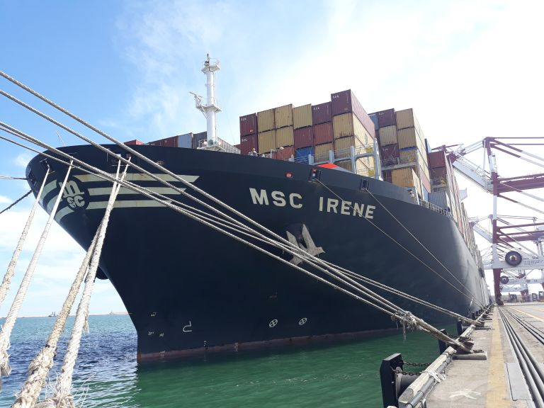 MSC IRENE Vessel Tracking | Live position | IMO 9399040 | MMSI 355233000