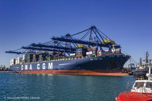 Photo of CMA  CGM  LEO ship