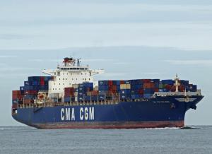Photo of CMA CGM MOLIERE ship