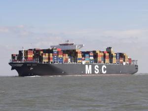 Photo of MSC GAIA ship